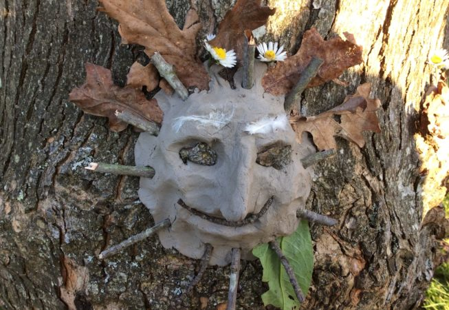 Tree face spirit