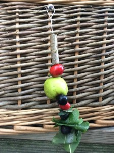 A colourful foragers charm to help with identification
